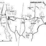 Karhulammen kartta