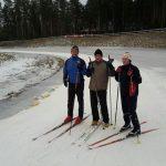 Ravirata hiihtäjiä