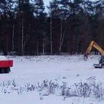 Rvirata Lumi saapuu kuormurilla